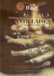 Efigies mars - Romancières antillaises et non-dits sur l'esclavage