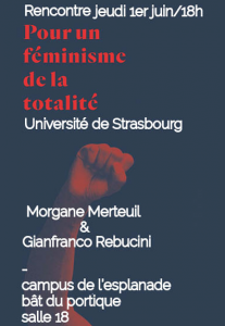 Affiche - Rencontre Féminisme