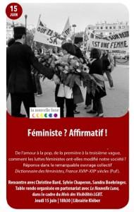 Kléber féministe 15 juin